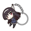 Kasumigaoka Utaha Pinched Keychain
