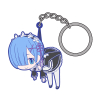 Rem Pinched Keychain