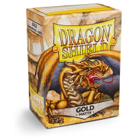 Dragon Shield Sleeves (Standard Matte - Gold)