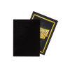 Dragon Shield Sleeves (Standard Matte Non-Glare - Black)