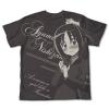 Nishizawa Ayumu All Print T-Shirt (Charcoal)