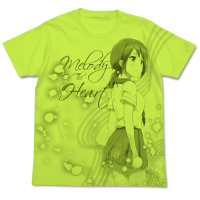 Okita Sawa T-Shirt (Lime Green)