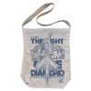 Cure Diamond Shoulder Tote Bag (Natural)
