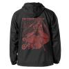 Cure Ace Hooded Windbreaker (Black x Red)