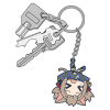 Silica Pinched Keychain ALO ver.